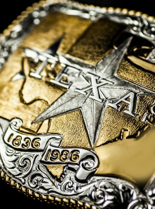 画像クリックで大きく確認できます Click↓2: クラムライン ベルト バックル テキサス/Crumrine Belt Buckle Texas