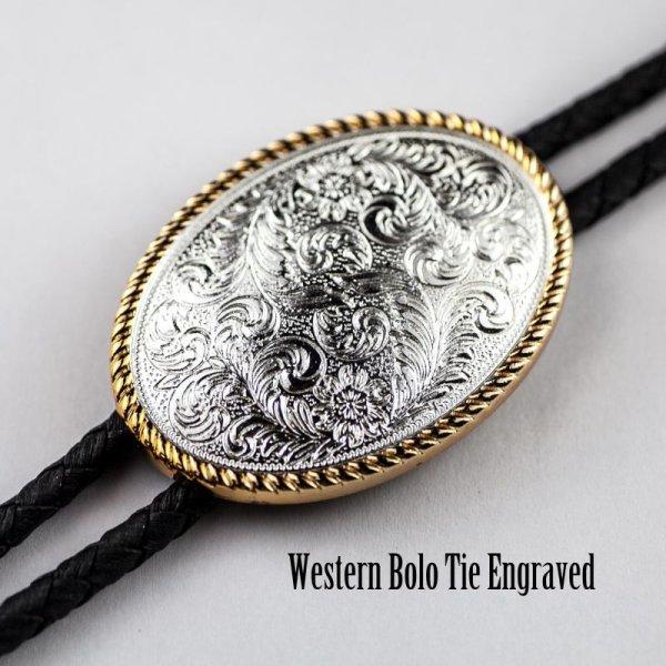 画像1: ウエスタン ボロタイ/Western Bolo Tie