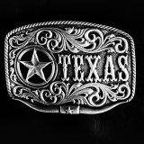 モンタナシルバースミス ベルト バックル テキサス ローンスター ロングホーン/Montana Silversmiths Belt Buckle