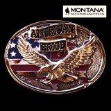 モンタナシルバースミス ベルト バックル イーグル アメリカンプライド/Montana Silversmiths Belt Buckle American Pride