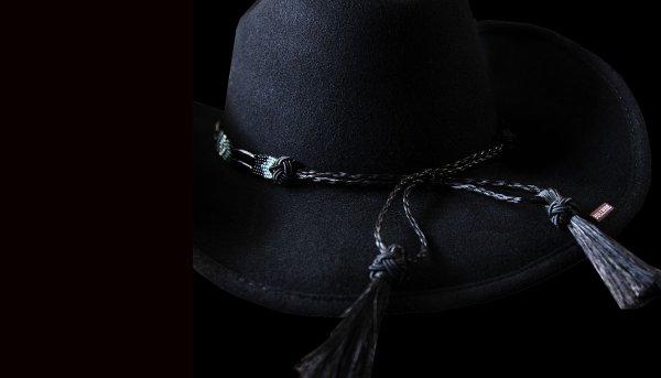 画像2: ブルハイド カウボーイハット シークレットメッセージ(ブラック)/Bullhide Cowboy Hat Secret Message(Black)
