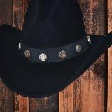 ブルハイド カウボーイハット ショットガン(ブラック)/Bullhide Cowboy Hat Shotgun(Black)