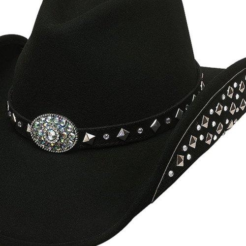 画像クリックで大きく確認できます Click↓1: ブルハイド カウボーイハット レッツゲットラウド(ブラック)M/Bullhide Cowboy Hat Let's Get Loud(Black)