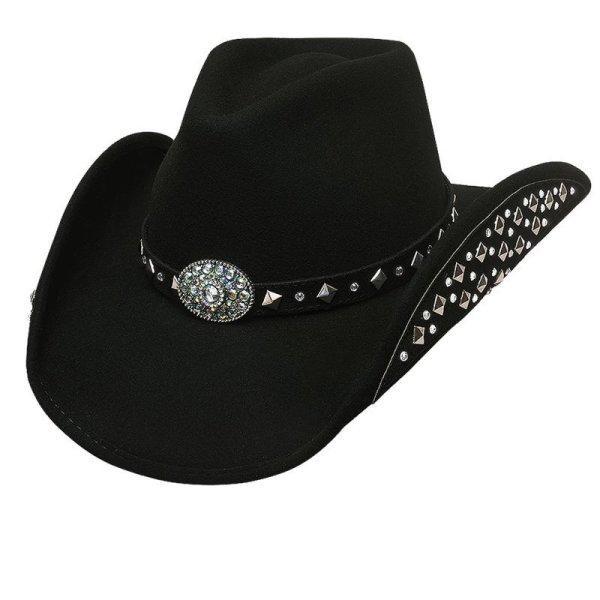 画像1: ブルハイド カウボーイハット レッツゲットラウド(ブラック)M/Bullhide Cowboy Hat Let's Get Loud(Black)