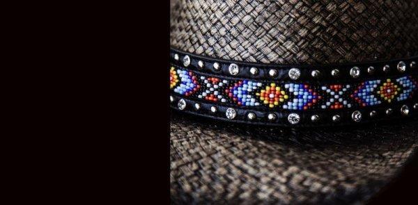 画像2: ブルハイド ウエスタン ストローハット(ラブマイセルフ)/BULLHIDE Western Straw Hat Love Myself