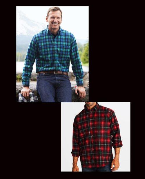 画像クリックで大きく確認できます Click↓3: ペンドルトン ウール シャツ・ファイアーサイドシャツ(長袖・ロビンソン ドレス タータン)/Pendleton Fireside Shirt (Robinson Dress Tartan)