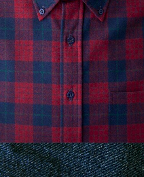 画像クリックで大きく確認できます Click↓2: ペンドルトン ウール シャツ・ファイアーサイドシャツ(長袖・ロビンソン ドレス タータン)/Pendleton Fireside Shirt (Robinson Dress Tartan)