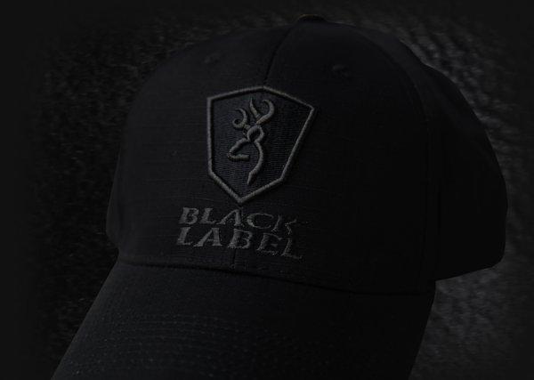 画像2: ブラックラベル デルタ リップストップ パトロールキャップ(ブラック)/Baseball Cap