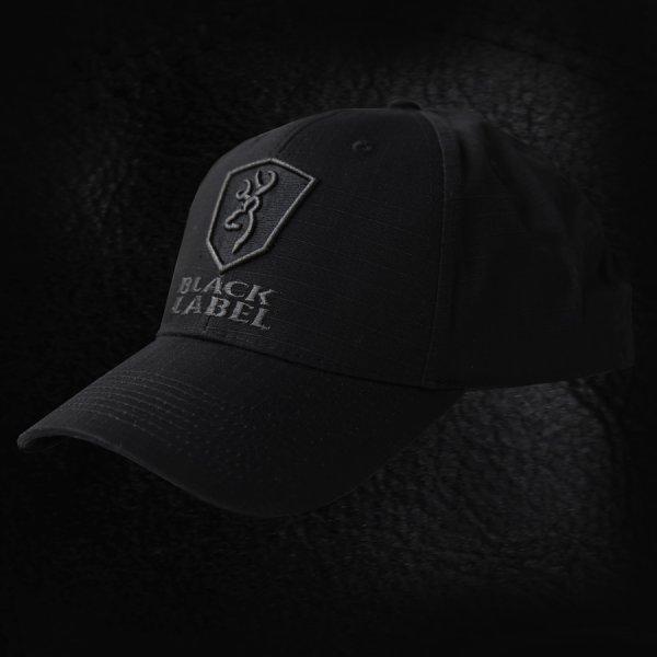 画像1: ブラックラベル デルタ リップストップ パトロールキャップ(ブラック)/Baseball Cap