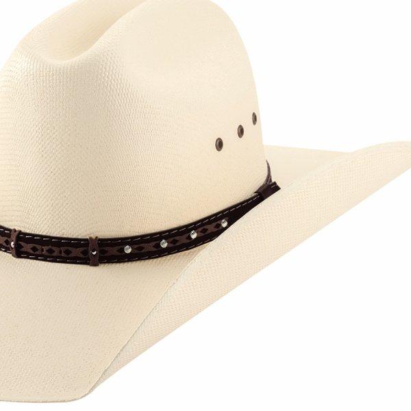 画像2: ウエスタン ストロー ハット (アイボリー)/Western Straw Hat (Ivory)
