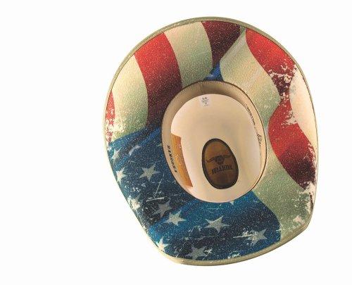 画像クリックで大きく確認できます Click↓2: ブルハイド ウエスタン ストローハット ウォレス(オフホワイト)/Bullhide Western Straw Hat Wallace(Off White)