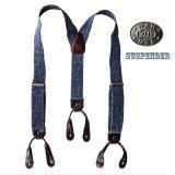 ワーメーカー サスペンダー(デニム)/Wah Maker Suspenders(Denim)