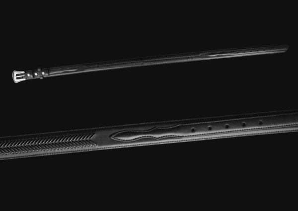 画像3: ノコナ レンジャー ベルト(アローレース・ブラック)/Nocona Arrow Lace Ranger Belt(Black)