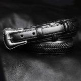 ノコナ レンジャー ベルト(アローレース・ブラック)/Nocona Arrow Lace Ranger Belt(Black)