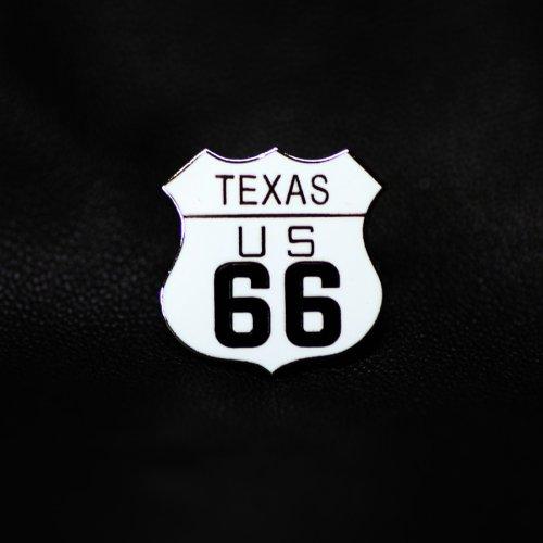 画像クリックで大きく確認できます Click↓1: ルート66 ピンバッジ テキサス/Pin Texas US Route 66