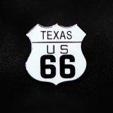 ルート66 ピンバッジ テキサス/Pin Texas US Route 66