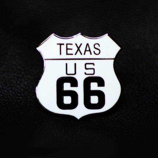 画像1: ルート66 ピンバッジ テキサス/Pin Texas US Route 66
