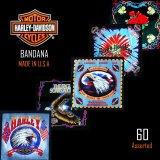 ハーレーダビッドソン バンダナ(60枚)/Harley Davidson Bandanas