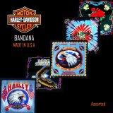 ハーレーダビッドソン バンダナ(5枚アソート)/Harley Davidson Bandanas