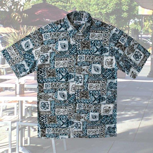 画像2: アートハウス 半袖 フィッシュ プリントシャツ/Arthouse Fish Print Shortsleeve Shirt