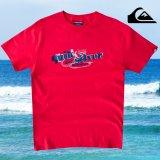 クイックシルバー ロゴ Tシャツ(レッド)/Quiksilver Logo T-shirt(Red)