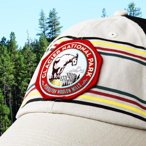 画像クリックで大きく確認できます Click↓2: ペンドルトン ナショナルパーク 国立公園 キャップ(グレイシャー)/Pendleton National Park Cap(Cream/Black Glacier)