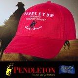ペンドルトン ロデオ キャップ(レッド)/Pendleton Round Up Whisky Cap(Red)