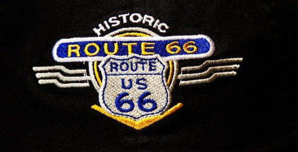 画像2: ルート66 キャップ(ブラック)/Route 66 Baseball Cap(Black)