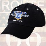 ルート66 キャップ(ブラック)/Route 66 Baseball Cap(Black)