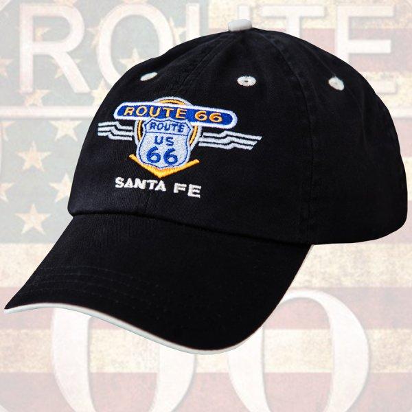 画像1: ルート66 キャップ(ブラック)/Route 66 Baseball Cap(Black)