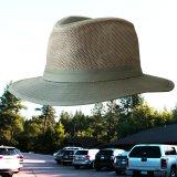 メッシュクラウン サファリ ハット(オリーブ)/Mesh Crown Safari Hat(Olive)