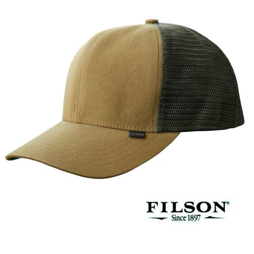 画像クリックで大きく確認できます Click↓1: フィルソン ロガー メッシュ キャップ(ライトブラウン・グリーン)/Filson Logger Mesh Cap