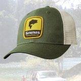 シムス ロゴパッチ メッシュ キャップ (フォレスト)/Simms Cap(Forest)