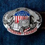 アメリカン トラッカー ベルト バックル/Belt Buckle American Trucker
