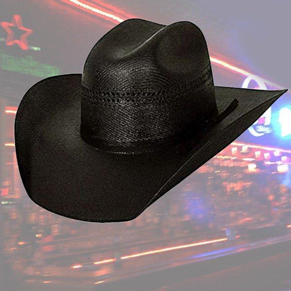 画像1: ブルハイド ウエスタン ストローハット ブラックゴールド10X(オールドウエスト・ブラック)/Bullhide Western Straw Hat Black Gold 10X(Black)