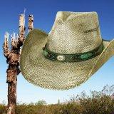 ブルハイド ウエスタン ストローハット(ランページ)/BULLHIDE Western Straw Hat Rampage