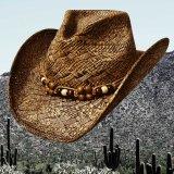 ウエスタン ストローハット(ピーカン)/Western Straw Hat