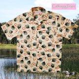カリフォルニア トロピック USA キャンプシャツ(カメラファン)/California Tropic Camp Shirt