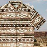 サウスウエスト 半袖 シャツ(ブラウン)/Short Sleeve Shirt(Brown)