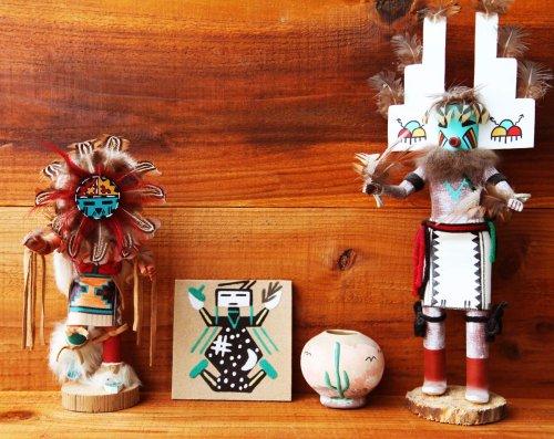 画像クリックで大きく確認できます Click↓2: サンドペイント 砂絵 ナバホ インディアン ハンドメイド/Americn Indian Navajo Sandpainting