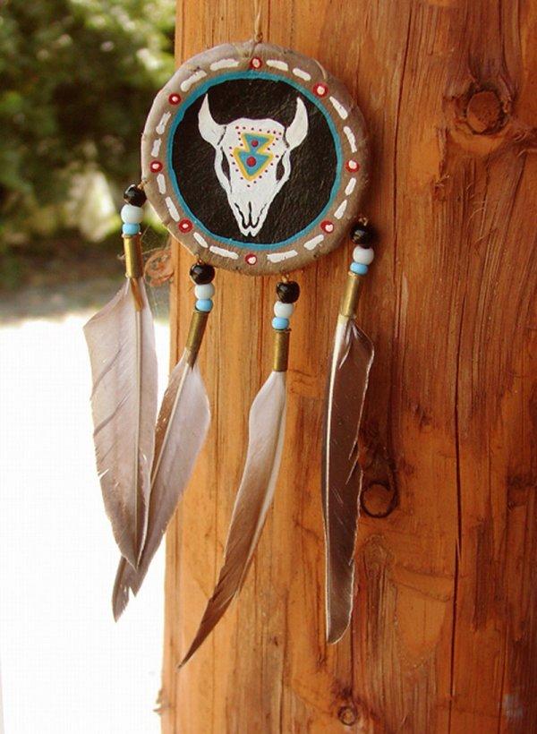 画像2: ハンドメイド ナバホ シールド/Hand Made Navajo Shield
