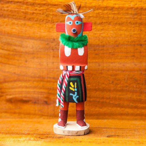 画像クリックで大きく確認できます Click↓1: カチナドール/Kachina Doll