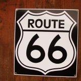 ルート66 メタルサイン/Route 66 Metal Sign
