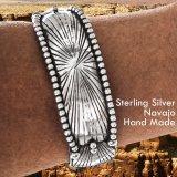 アメリカインディアン ナバホ族 スターリングシルバー ハンドメイド ブレスレット/Navajo Sterling Silver Bracelet