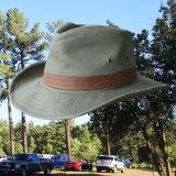 DPC ドーフマン パシフィック UPF50+ アウトドア ハット(オリーブ)/Dorfman Pacific Cotton Outback Hat(Olive)