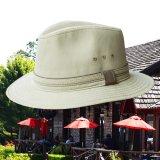 DPC ドーフマン パシフィック UPF50+ サファリ ハット(カーキ)/Dorfman Pacific Safari Hat(Khaki)