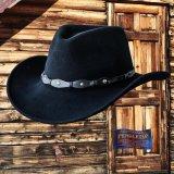 ペンドルトン ピュアーバージンウール スターコンチョ パッカブル ハット(ブラック)/Pendleton Virgin Wool Hat(Black)