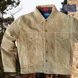 ペンドルトン スエード ジャケット(ライトブラウン)/Pendleton Suede Jacket