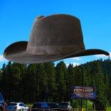 ペンドルトン ウールラインド ワックスコットンハット(ブラウン・レンジャープラッド)M/Pendleton Wax Cotton Outback Hat with Ranger Plaid Lining