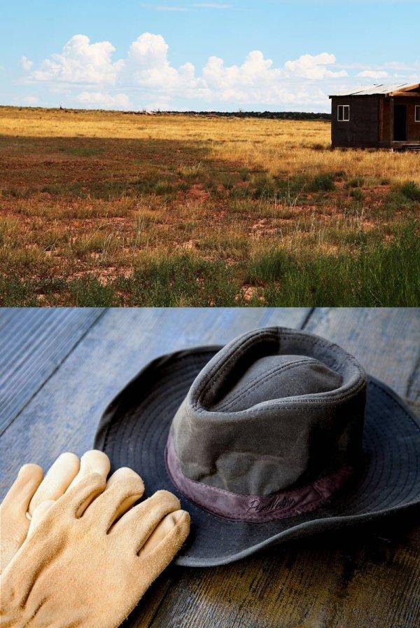 画像3: ペンドルトン ウールラインド ワックスコットンハット(ブラウン・レンジャープラッド)M/Pendleton Wax Cotton Outback Hat with Ranger Plaid Lining